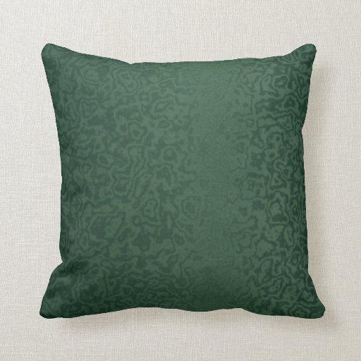 Verde esmeralda rico cojín