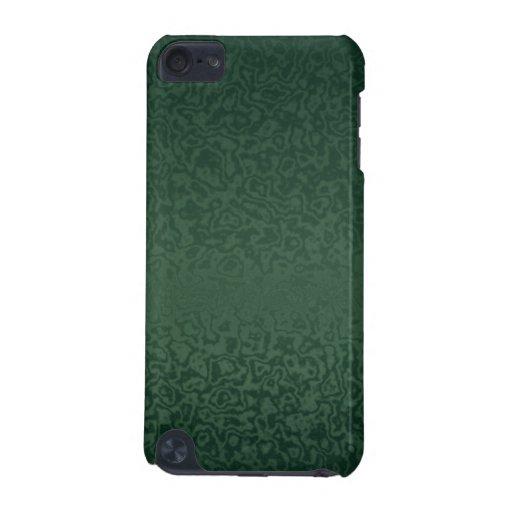 Verde esmeralda rico funda para iPod touch 5G
