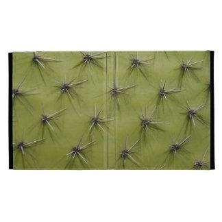 Verde espinoso de la caja el | del folio del iPad