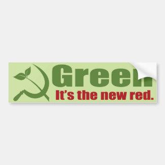 Verde Etiqueta De Parachoque