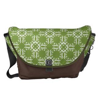 Verde fantástico del pañuelo bolsas de mensajería