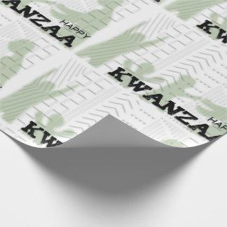 Verde feliz moderno de Kwanzaa