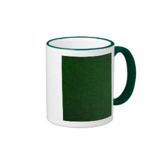 Verde floral plumoso del vintage tazas de café