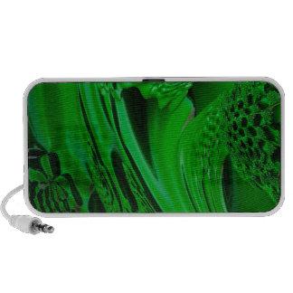 verde flúido de la sorpresa digital portátil altavoz