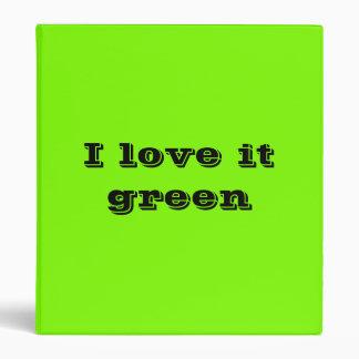 "verde fluorescente carpeta 1"""