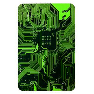 Verde fresco del ordenador de placa de circuito imanes flexibles