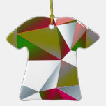 Verde geométrico 02 ornamente de reyes