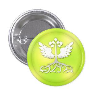 verde h2g2c2 pin redondo de 1 pulgada