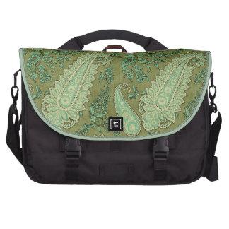 Verde hermoso y bolso del ordenador portátil de Br Bolsas Para Portatil