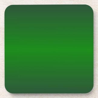 Verde horizontal 2 - verde medio de la selva y ver posavasos