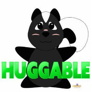 Verde Huggable de la mofeta Huggable Esculturas Fotograficas