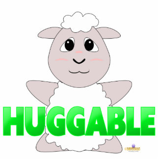 Verde Huggable de las ovejas blancas Huggable Escultura Fotografica
