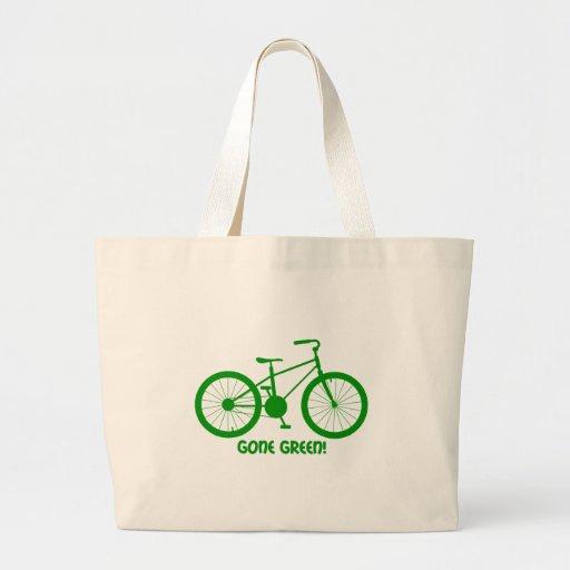 verde ido bolsa tela grande