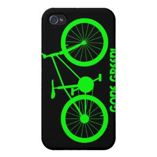 verde ido iPhone 4 carcasas