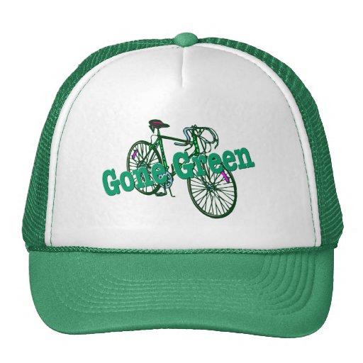 Verde ido gorras