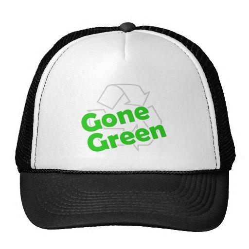 verde ido gorro de camionero