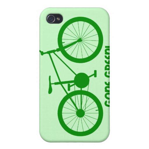 verde ido iPhone 4/4S carcasa