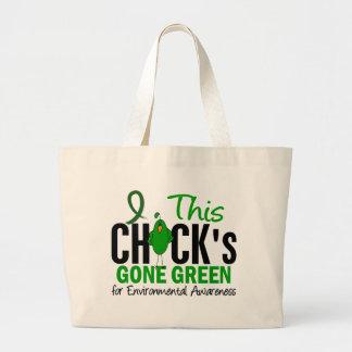 Verde ido polluelo AMBIENTAL Bolsas