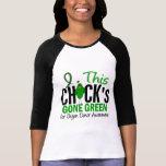 Verde ido polluelo de la DONACIÓN DE ÓRGANOS Camisetas