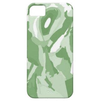verde incógnito iPhone 5 carcasa