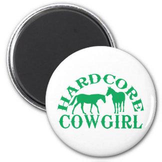 Verde incondicional de la vaquera A262 Imanes Para Frigoríficos