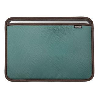 Verde intrépido del trullo funda para macbook air
