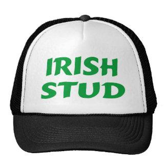 Verde irlandés del perno prisionero gorras