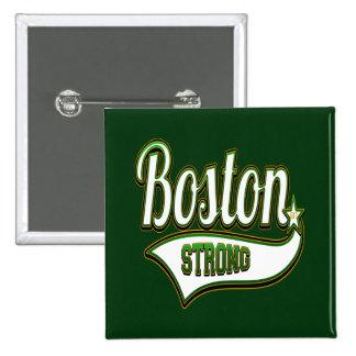 VERDE irlandés fuerte de Boston Pins