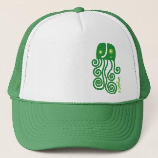Verde jellyfish trucker hat