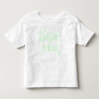 verde kosher del cutie camiseta