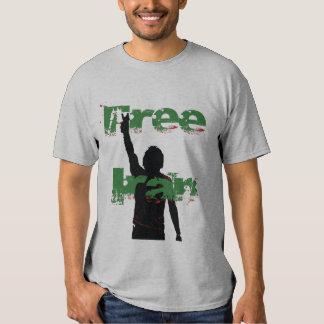 Verde libre de Irán Poleras