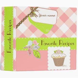/Verde libro personalizado guinga rosada de la rec