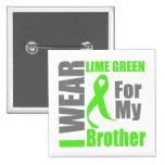 Verde lima Brother del desgaste del linfoma I Pin