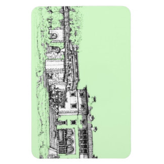 Verde lima de Vizcaya Imán Flexible
