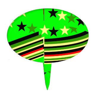 Verde lima decoraciones para tartas