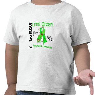 Verde lima del desgaste del linfoma I para MÍ 43 Camiseta