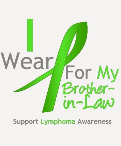 Verde lima del desgaste del linfoma I para mi cuña Camisetas