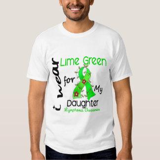 Verde lima del desgaste del linfoma I para mi hija Remeras