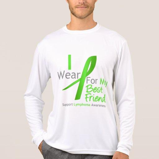 Verde lima del desgaste del linfoma I para mi mejo T-shirt