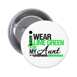 Verde lima del desgaste del linfoma I para mi tía Pin