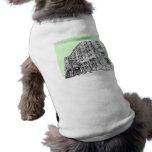 Verde lima del hotel de Thayer Camiseta De Mascota