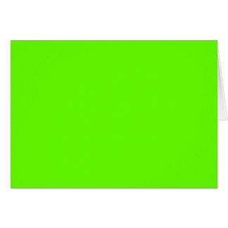 Verde lima felicitacion