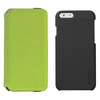 Verde lima funda billetera para iPhone 6 watson