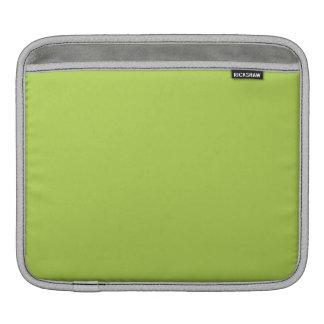 Verde lima manga de iPad