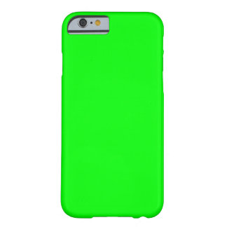 Verde lima funda de iPhone 6 barely there