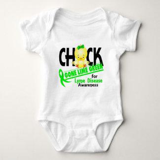 Verde lima ida polluelo 2 de la enfermedad de Lyme Camisas