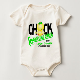 Verde lima ida polluelo 2 de la enfermedad de Lyme Mameluco