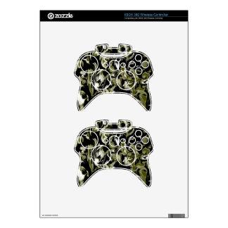 Verde lima oscura, mezcla blanco y negro - SK Mando Xbox 360 Skins