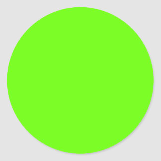 Verde lima pegatina redonda