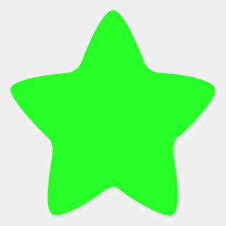 Verde lima pegatina
